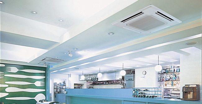 Restaurant airconditioning